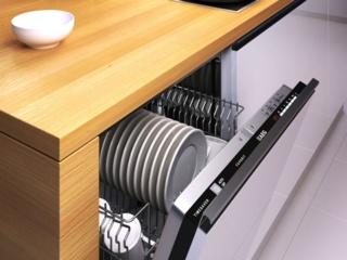Система управления QuickSelect в посудомоечных машинах AEG