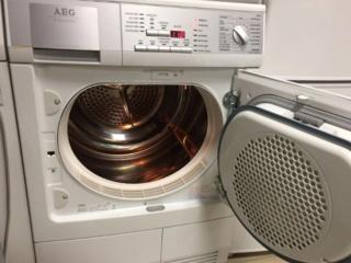 Функция реверса барабана в сушильных машинах AEG