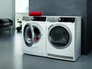 Режим сушки по остаточной влажности в стиральных машинах AEG