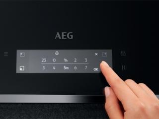 Детальный обзор индукционной варочной панели IAE84881FB от AEG