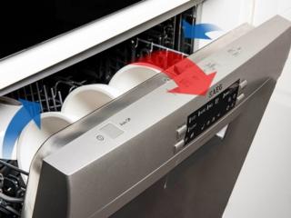 Индикация хода программ посудомоечных машин AEG | обзор функции