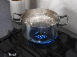 Конфорка с тройной короной пламени у газовых варочных панелей и плит AEG