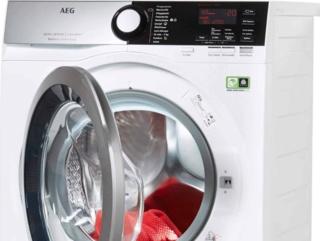 Звуковой сигнал окончания работы в стиральных машинах AEG
