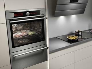 Автоматическая подстройка температуры в духовках АЕГ