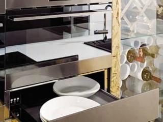 Встраиваемый ящик в шкафах для подогрева посуды AEG